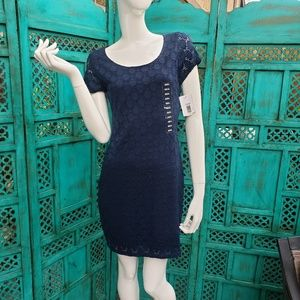Isaac Mizrahi Nwt Navy Blue Dress Small Target